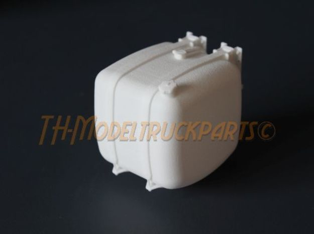 THM 00.3102-050-L Fuel tank Tamiya Actros in White Processed Versatile Plastic
