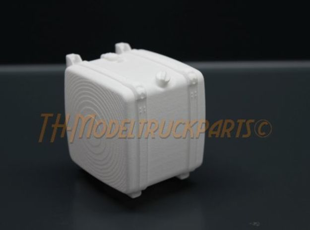 THM 00.4102-050 Fuel tank Tamiya Scania in White Processed Versatile Plastic