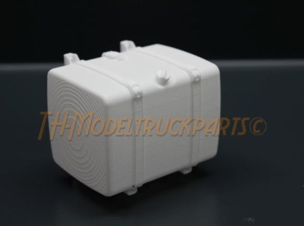 THM 00.4102-072 Fuel tank Tamiya Scania in White Processed Versatile Plastic