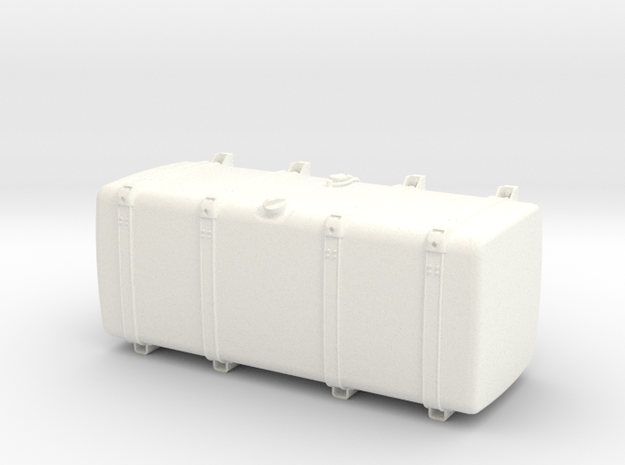 THM 00.4104-135 Fuel tank Tamiya Scania in White Processed Versatile Plastic