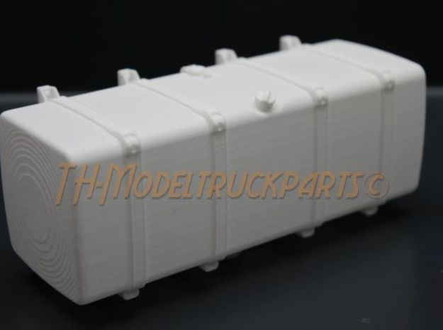 THM 00.4104-150 Fuel tank Tamiya Scania in White Processed Versatile Plastic