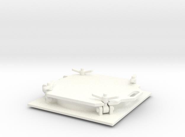 THM 20.0095 Bulk hatch closed in White Processed Versatile Plastic