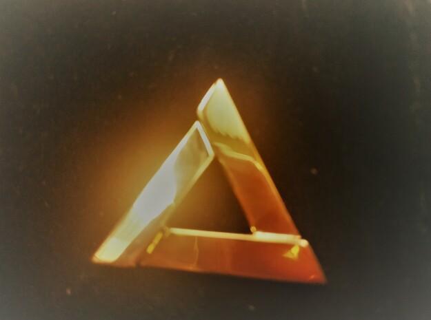 HERA - Pendentif in 18k Gold Plated Brass