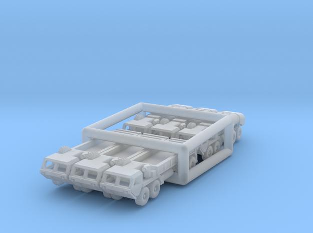 HEMTT Tanker & Cargo Truck Convoy 1/350 Scale in Smooth Fine Detail Plastic