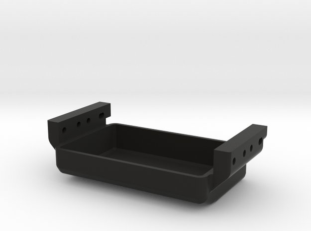 Delta 252 Rear Mount Tray in Black Natural Versatile Plastic
