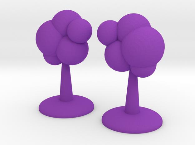 ! - Celestial Phenomenon Terrain in Purple Processed Versatile Plastic