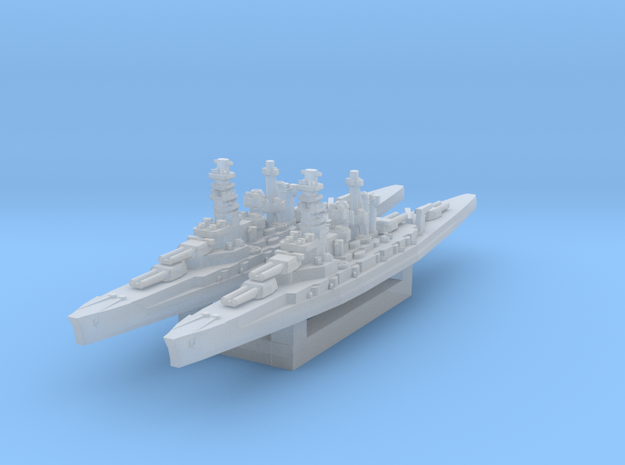 Kongo class (Classic AA Size) in Smooth Fine Detail Plastic