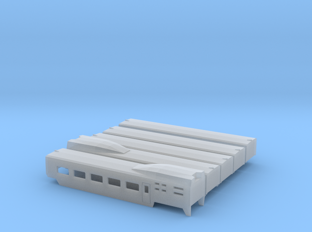 TGV ohne TK Scale TT in Smooth Fine Detail Plastic