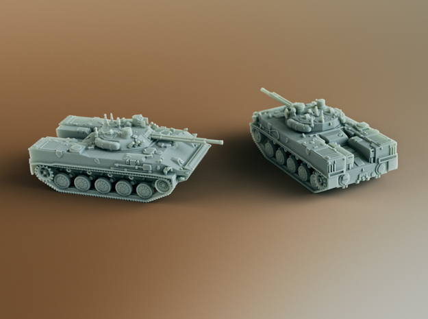 BMD-4 Infantry fighting vehicle (IFV) Scale: 1:144 in Smooth Fine Detail Plastic