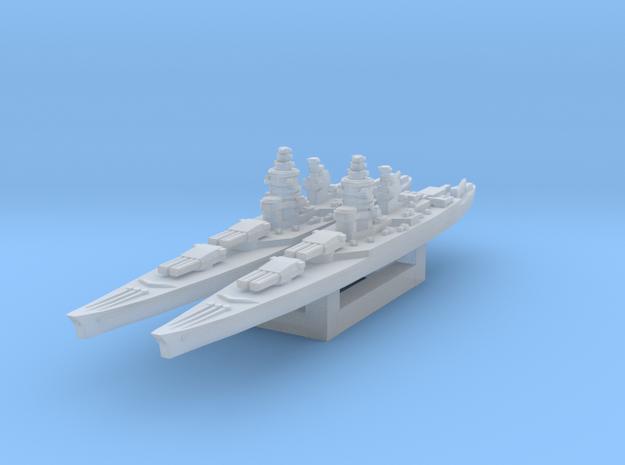 Richelieu battleship 1/4800 in Smooth Fine Detail Plastic