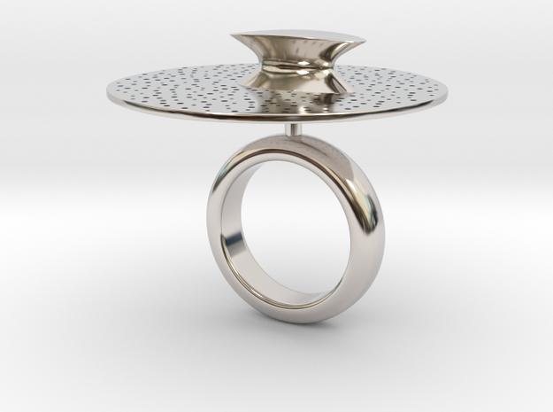 Tronco - Bjou Designs in Rhodium Plated Brass