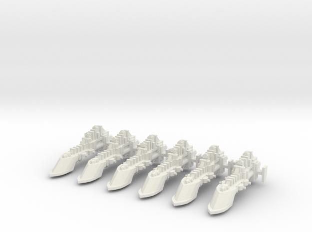 Nave civil requisada in White Natural Versatile Plastic