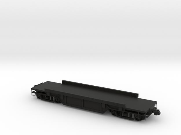 Eisenbahnwagon in Black Natural Versatile Plastic