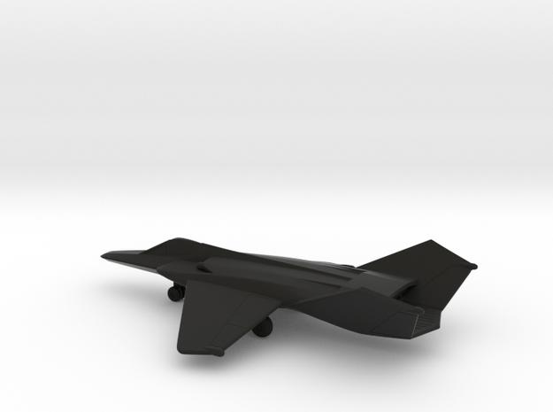 MiG-37B Ferret E in Black Natural Versatile Plastic: 1:200