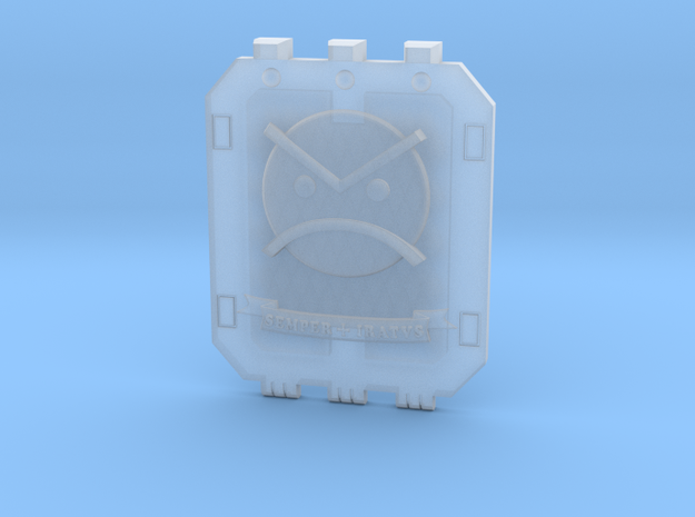 Land_Raider_Door_Angry_Marine_03 in Smooth Fine Detail Plastic