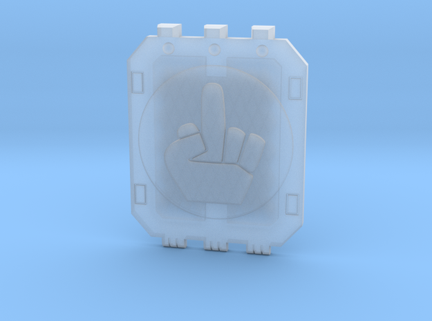 Land_Raider_Door_Angry_Marine_05 in Smooth Fine Detail Plastic