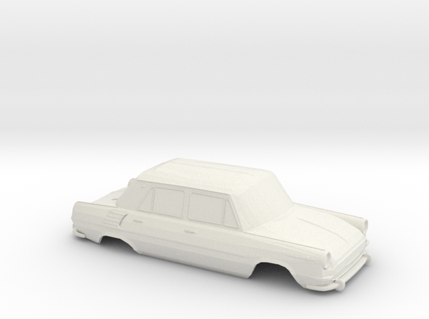Skoda 1000 MB Shell - 1:32scale  in White Natural Versatile Plastic