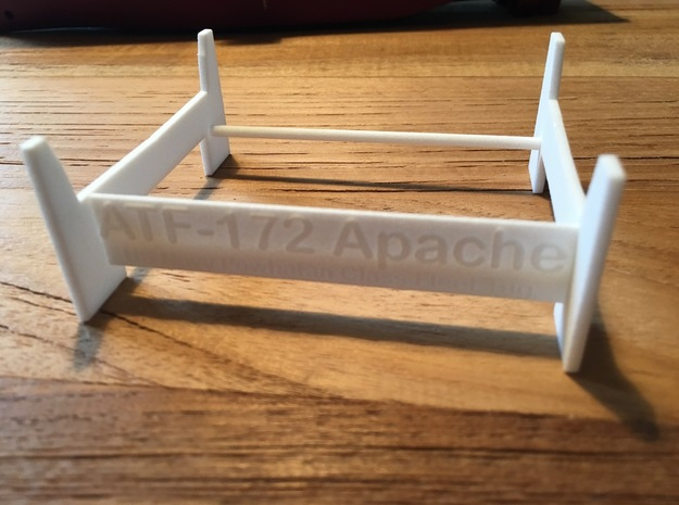 Apache fleet tug, display stand (1:200) in White Processed Versatile Plastic