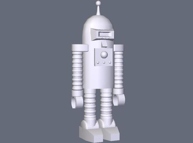 The Republic Robot - Standing in White Natural Versatile Plastic