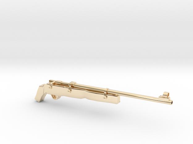 SAWED Rifle82 Australian in 14k Gold Plated Brass