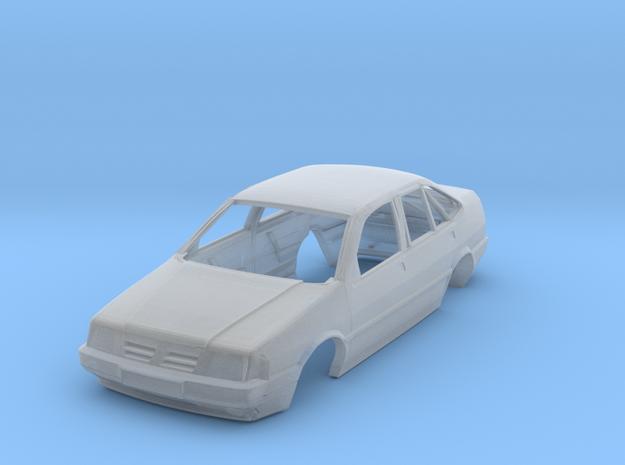 Fiat Tempra 92 nur Karosse in H0 1/87 in Smoothest Fine Detail Plastic