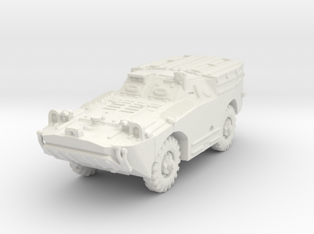 BRDM 1 Snapper (closed) scale 1/100 in White Natural Versatile Plastic