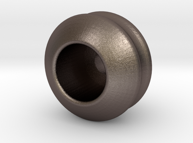 VOS1 in Polished Bronzed-Silver Steel