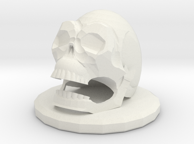 Betrayal At House On The Hill Omen - Skull in White Natural Versatile Plastic