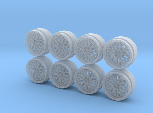 BBS LM 9 Hot Wheels Rims in Smooth Fine Detail Plastic