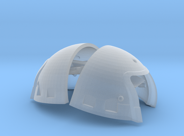 shoulder bumps supplement cuirass bill paxton huds in Smooth Fine Detail Plastic: 1:18