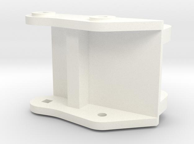 1/14 quick coupler for Huina 580 in White Processed Versatile Plastic