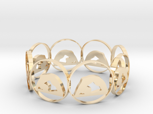 yoga19h in 14k Gold Plated Brass