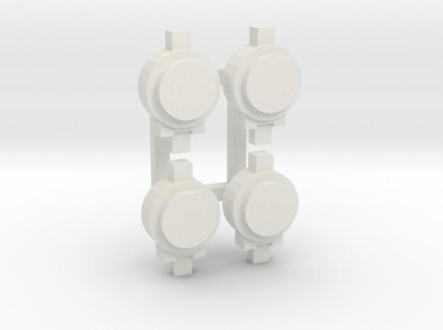 OO / HO Tail Lamp x4