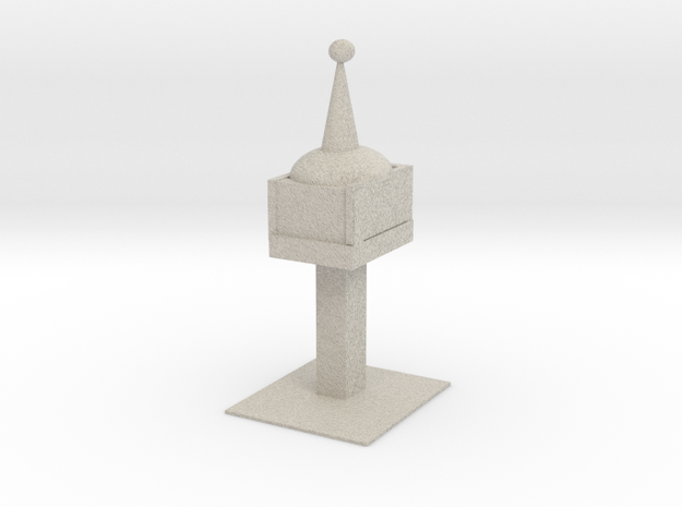 Space Needle in Natural Sandstone
