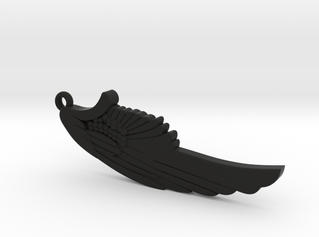 Wing in Black Natural Versatile Plastic