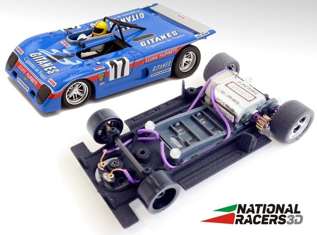 Chassis - Sloter Lola T280/290 (SW) in Black PA12
