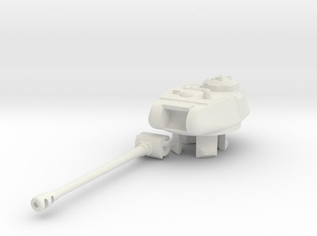 1/100 KV/IS-122 Turret in White Natural Versatile Plastic