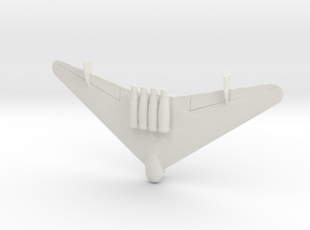 1:200  EF-130  (With Reinforced Gear)  in White Natural Versatile Plastic