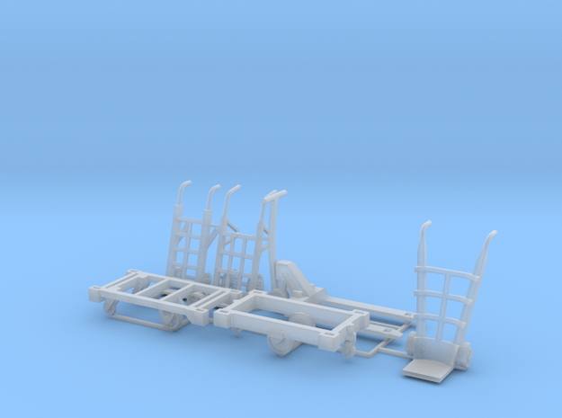 Warehouse equipment  1_87 MM in Smoothest Fine Detail Plastic