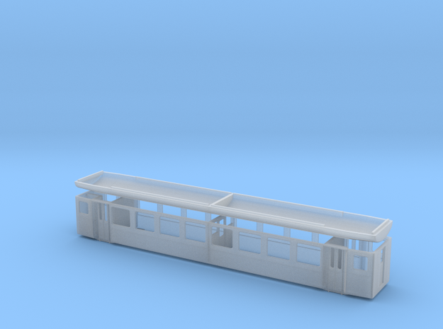 BOB B241-252/ BVZ B2281-2290/ SBB Brünig B701-755 in Smooth Fine Detail Plastic: 1:150