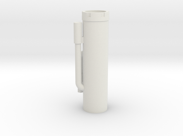 Shock Body ByPass - King Shocks in White Natural Versatile Plastic