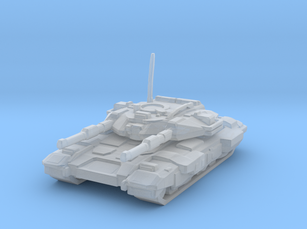 Paladin main tank in Smooth Fine Detail Plastic