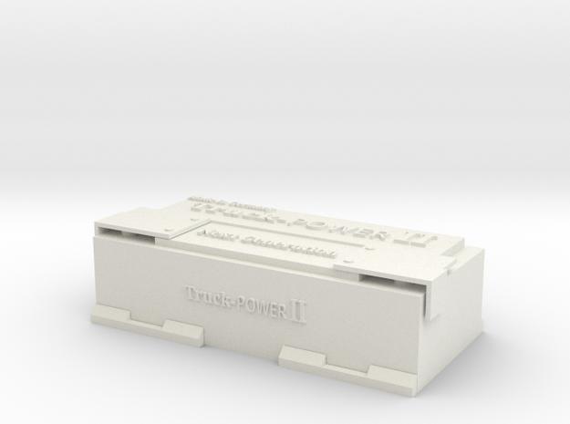 1:14 Truck LKW Batterie battery in White Natural Versatile Plastic