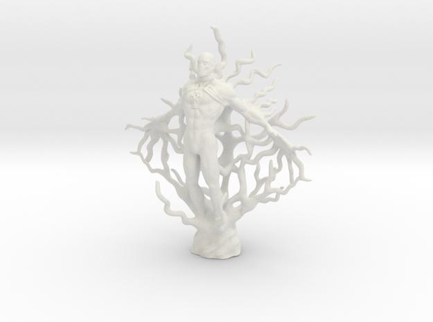 Transcentent Tan God in White Natural Versatile Plastic