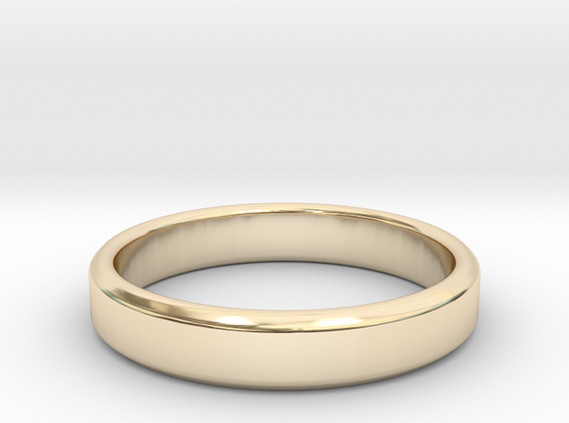 tough guy ring size 9 in 14k Gold Plated Brass