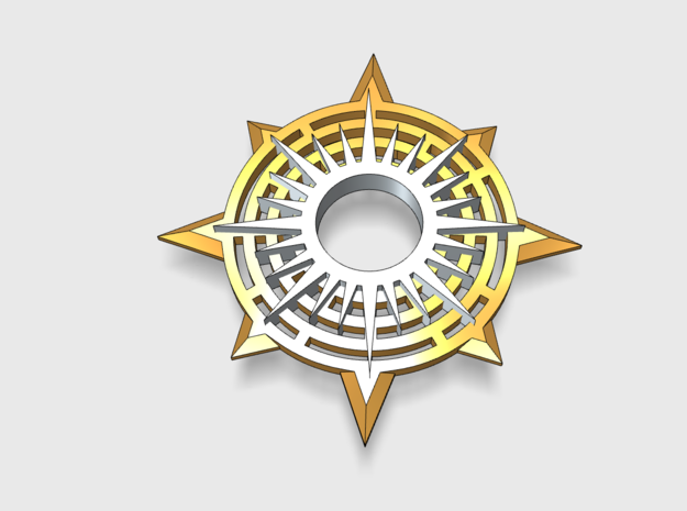[Tiny Titans] Asto Compass: Warlord Insignia Sets in Smooth Fine Detail Plastic