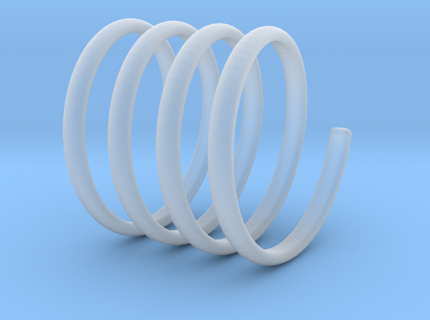 spring coil ring size 6.5 in Smoothest Fine Detail Plastic
