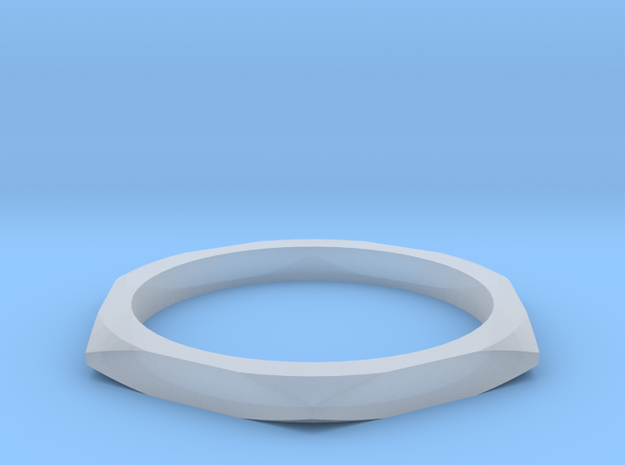 nut ring size 7 in Smoothest Fine Detail Plastic