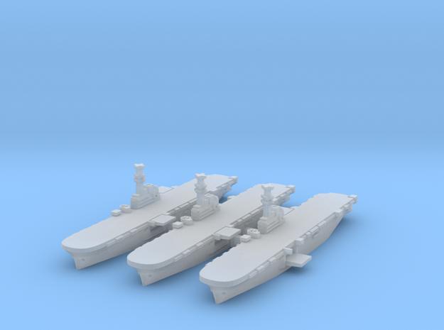Iwo Jima Class LPH x3 (FUD) in Smooth Fine Detail Plastic: 1:4800