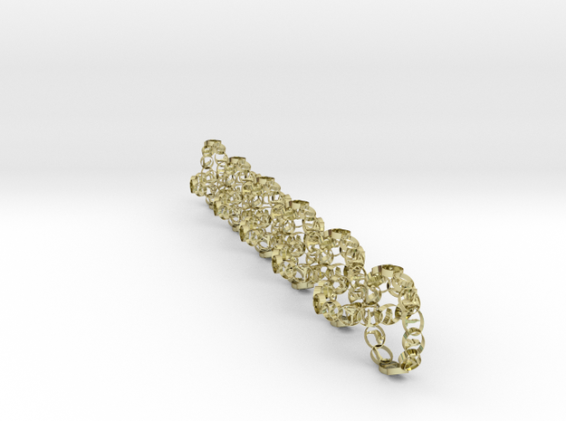chain 17.58 mm 11 in 18k Gold Plated Brass